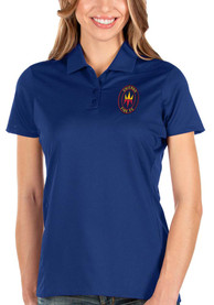 Chicago Fire Womens Antigua Balance Polo Shirt - Blue