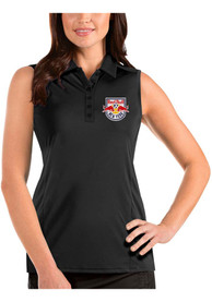 New York Red Bulls Womens Antigua Tribute Sleeveless Tank Top - Black