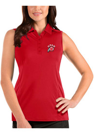 Utah Utes Womens Antigua Tribute Sleeveless Tank Top - Red
