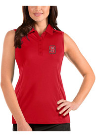 NC State Wolfpack Womens Antigua Tribute Sleeveless Tank Top - Red