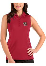 Boston College Eagles Womens Antigua Tribute Sleeveless Tank Top - Red