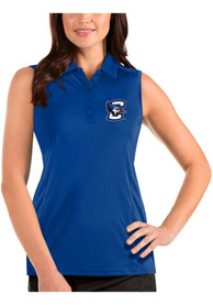 Creighton Bluejays Womens Antigua Tribute Sleeveless Tank Top - Blue