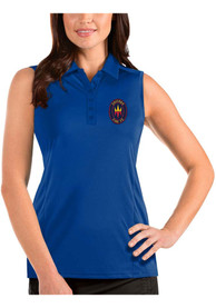 Chicago Fire Womens Antigua Tribute Sleeveless Tank Top - Blue