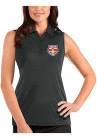 New York Red Bulls Womens Antigua Tribute Sleeveless Tank Top - Grey