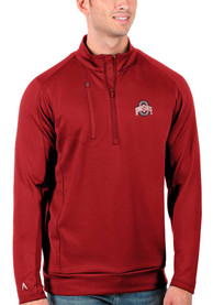 Ohio State Buckeyes Antigua Generation 1/4 Zip Pullover - Red