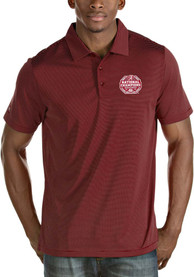 Alabama Crimson Tide Antigua 2020 Football National Champions Quest Polo Shirt - Red