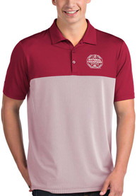 Alabama Crimson Tide Antigua 2020 Football National Champions Venture Polo Shirt - Red