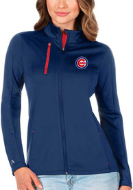 Chicago Cubs Womens Antigua Generation Light Weight Jacket - Blue