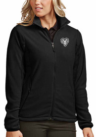 Antigua West Chester Golden Rams Womens Black Ice Light Weight Jacket