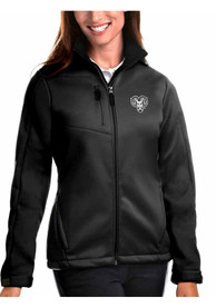 Antigua West Chester Golden Rams Womens Traverse Black Heavy Weight Jacket