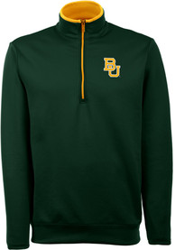 Antigua Baylor Bears Green Leader 1/4 Zip Pullover