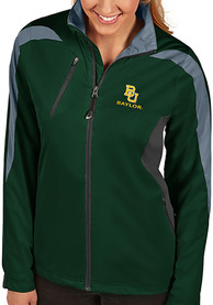 Antigua Baylor Bears Womens Discover Grey Medium Weight Jacket