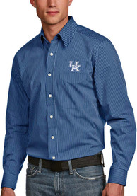 Kentucky Wildcats Antigua Graduate Dress Shirt - Blue