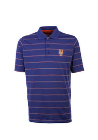 New York Mets Antigua Deluxe Polo Shirt - Blue