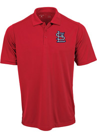 St Louis Cardinals Antigua Tribute Polo Shirt - Red