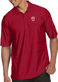 Indiana Hoosiers Antigua Illusion Polo Shirt - Red