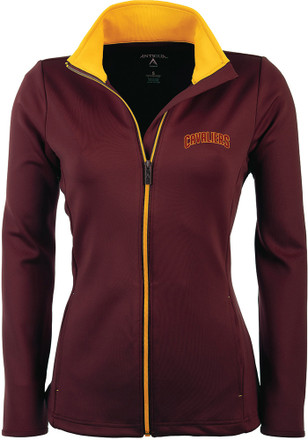 Antigua Cleveland Cavaliers Womens Maroon Leader Light Weight Jacket