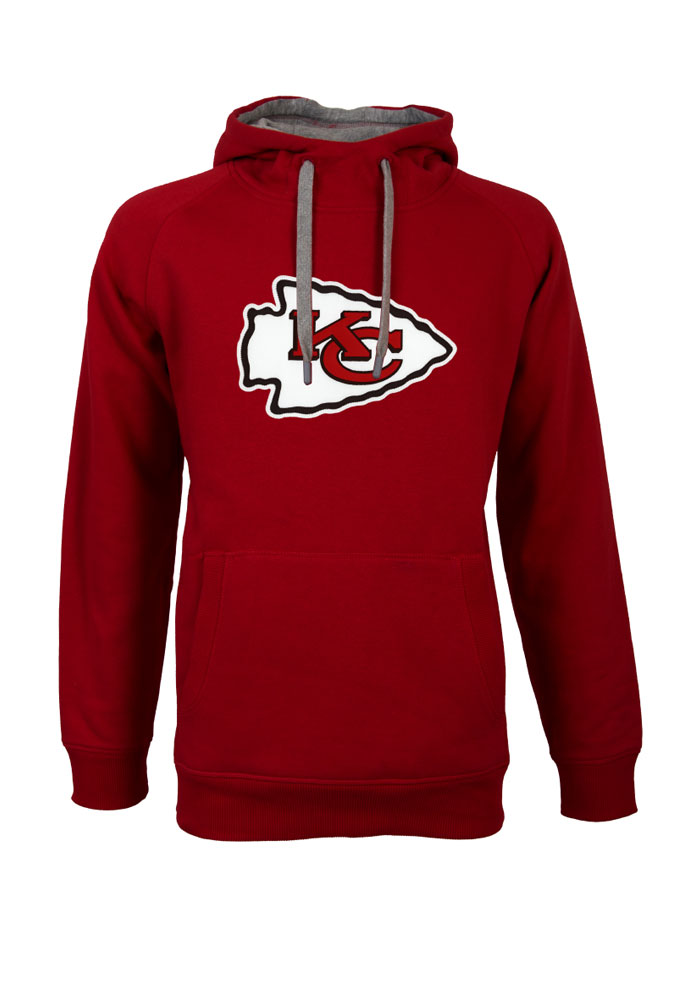 Antigua Kansas City Chiefs Mens Red Victory Long Sleeve Hoodie - Image 1