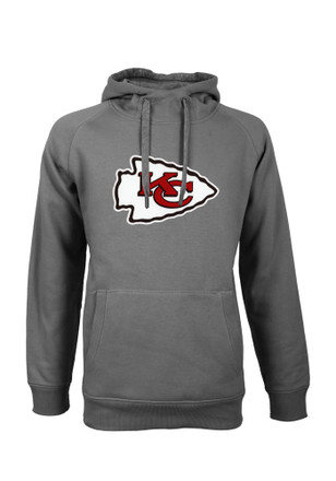 Antigua Kansas City Chiefs Grey Victory Hoodie d24dcfdbc6fa
