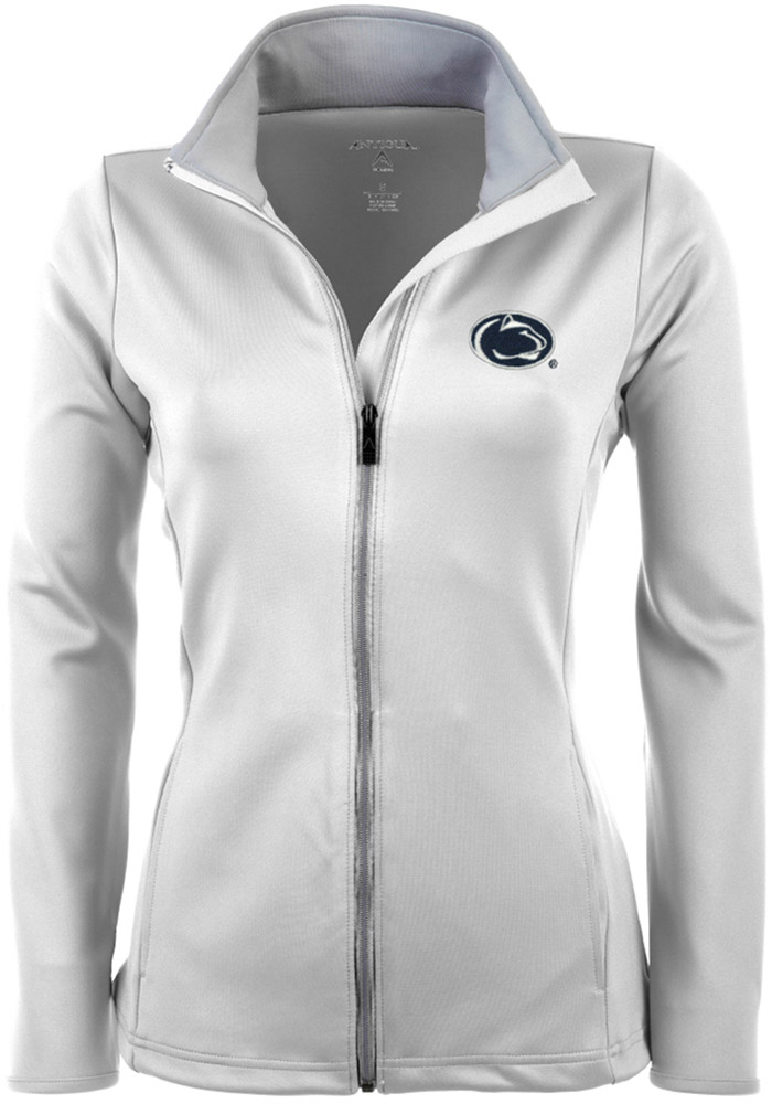 Antigua Penn State Nittany Lions Womens White Leader Medium Weight Jacket - Image 1