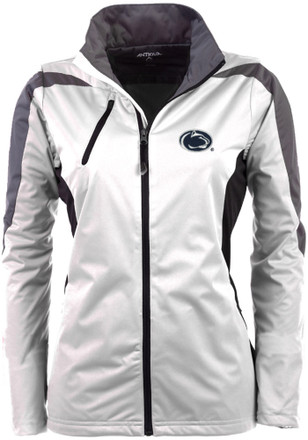 Antigua Penn State Nittany Lions Womens White Discover Light Weight Jacket