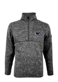 Antigua Penn State Nittany Lions Grey Fortune 1/4 Zip Pullover