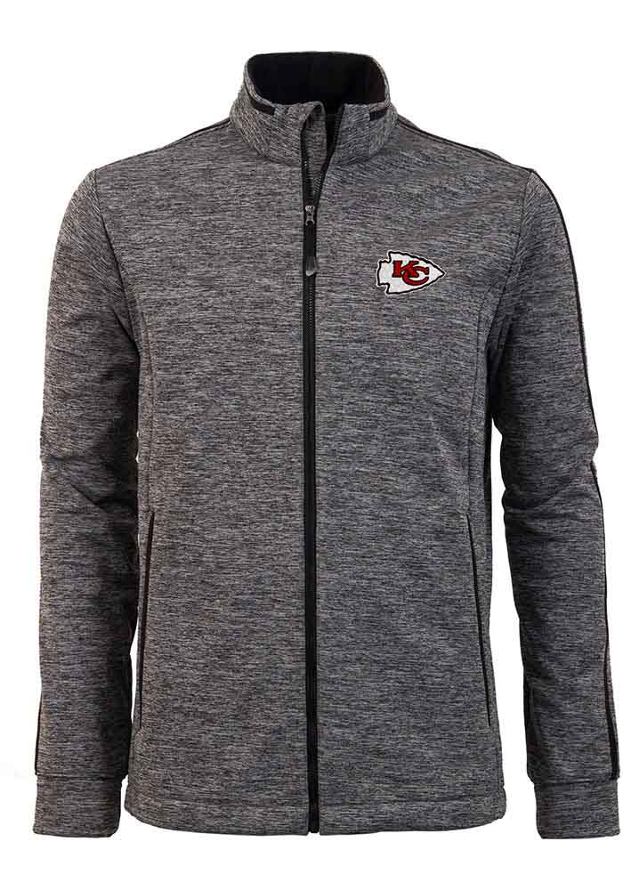 Antigua Kansas City Chiefs Mens Black Golf Medium Weight Jacket - Image 1