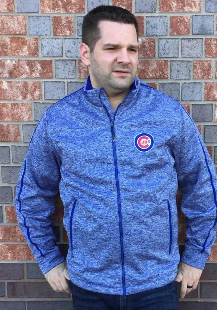 Antigua Chicago Cubs Mens Blue Golf Medium Weight Jacket - Image 2