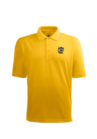 Fort Hays State Tigers Antigua Pique Xtra-Lite Polo Shirt - Gold