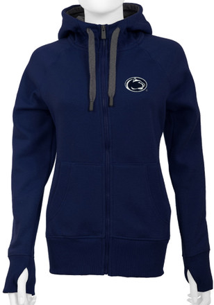 Antigua Penn State Nittany Lions Womens Navy Blue Victory Full Zip Jacket