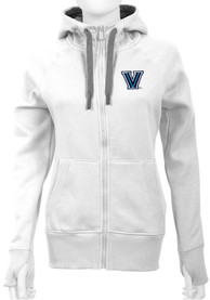 Antigua Villanova Wildcats Womens White Victory Full Zip Jacket