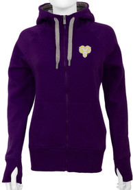 Antigua West Chester Golden Rams Womens Purple Victory Full Zip Jacket