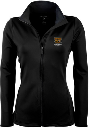 Antigua Western Michigan Broncos Womens Black Leader Light Weight Jacket