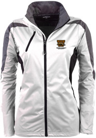 Antigua Western Michigan Broncos Womens White Discover Light Weight Jacket