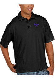 Antigua K-State Wildcats Mens Pique Xtra-Lite Short Sleeve Polo Shirt