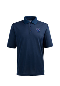 Antigua Villanova Wildcats Navy Blue Pique Xtra-Lite Short Sleeve Polo Shirt