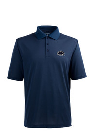 Antigua Penn State Nittany Lions Navy Blue Pique Xtra-Lite Short Sleeve Polo Shirt