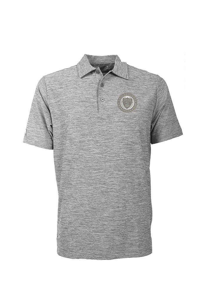 Philadelphia Union Antigua Element Polo Shirt - Grey