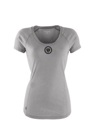 Antigua Philadelphia Union Womens Grey Pep Scoop