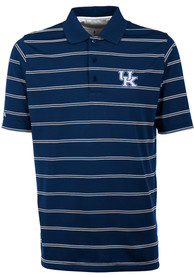 Antigua Kentucky Wildcats Blue Deluxe Short Sleeve Polo Shirt