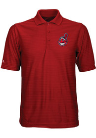 Cleveland Indians Antigua Illusion Polo Shirt - Red
