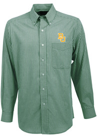 Antigua Baylor Bears Green Associate Dress Shirt