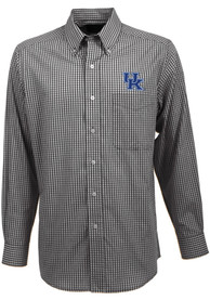 Antigua Kentucky Wildcats Black Associate Dress Shirt