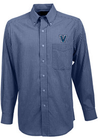 Antigua Villanova Wildcats Navy Blue Associate Dress Shirt