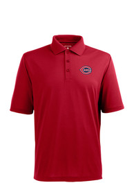 Cincinnati Reds Antigua Xtra-Lite Polo Shirt - Red