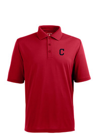Cleveland Indians Antigua Xtra-Lite Polo Shirt - Red