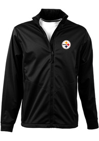 Pittsburgh Steelers Antigua Golf Medium Weight Jacket - Black
