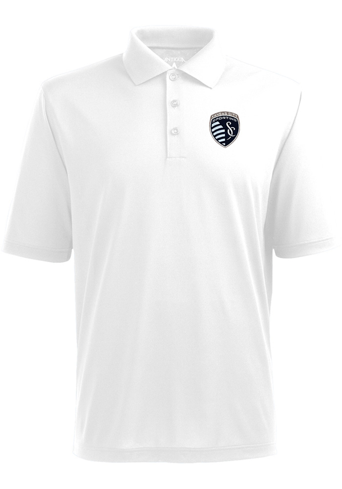 Sporting Kansas City Antigua Pique Polo Shirt - White