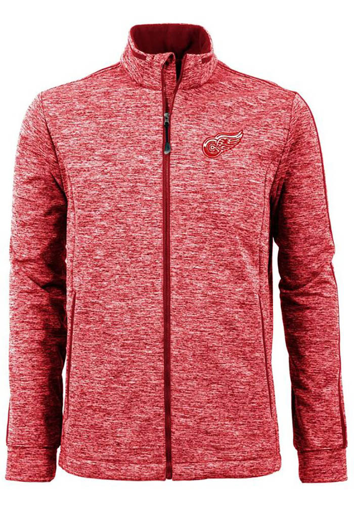 Antigua Detroit Red Wings Mens Red Golf Medium Weight Jacket - Image 1