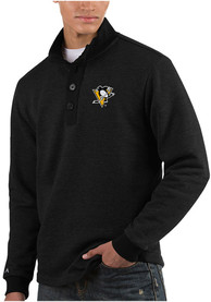 Antigua Pittsburgh Penguins Black Pivotal Sweater